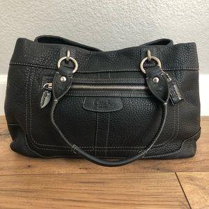 Coach Penelope Pebbled Leather Shoulder Bag
